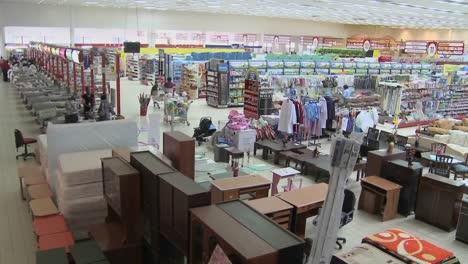 A-high-angle-view-over-a-supermarket-in-Nairobi-Kenya