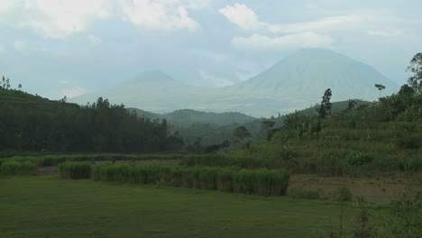 Establishing-shot-of-the-Virunga-Volcanos-on-the-Rwanda-Congo-border
