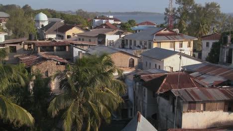 Una-Vista-General-Sobre-El-Establecimiento-De-Tiro-De-Stone-Town-Zanzibar