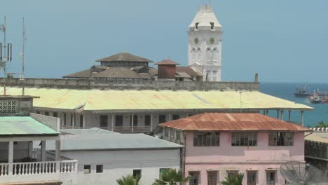 A-view-over-the-old-port-of-Stone-Town-Zanzibar
