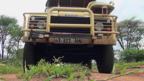A-safari-vehicle-drives-directly-over-the-camera-in-Africa