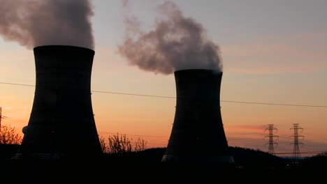 Sunset-behind-nuclear-power-plant-1