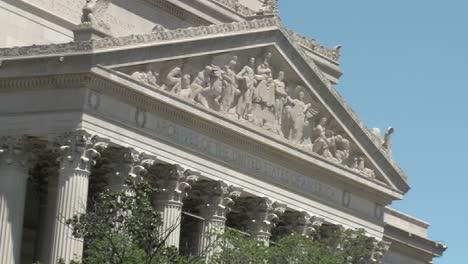 El-Edificio-De-Archivos-Nacionales-En-Washington-Dc