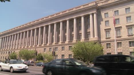 The-US-Treasury-Building-in-Washington-DC