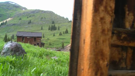 A-nice-traveling-shot-reveals-the-ghost-town-at-Animas-Forks-Colorado