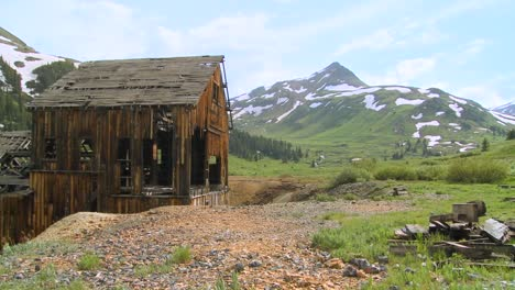 An-abandoned-mine-in-the-Colorado-Rocky-Mountains