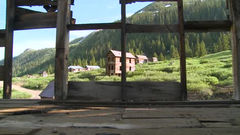 Colorado-ghost-town-as-seen-through-old-windows