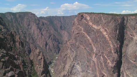 A-cliff-face-in-the-black-canyon-of-the-Gunisson