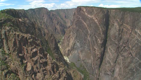 A-time-lapse-shot-of-a-cliff-face-in-the-black-canyon-of-the-Gunisson-1
