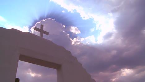 A-Christian-cross-glows-against-a-heavenly-sky-1