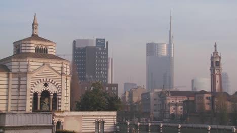 The-modern-skyline-of-Milan-Italy-1
