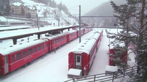 The-train-station-in-St-Moritz-Switzerland-during-a-snowstorm-1