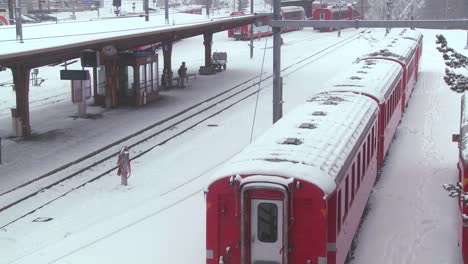 The-train-station-in-St-Moritz-Switzerland-during-a-snowstorm-2