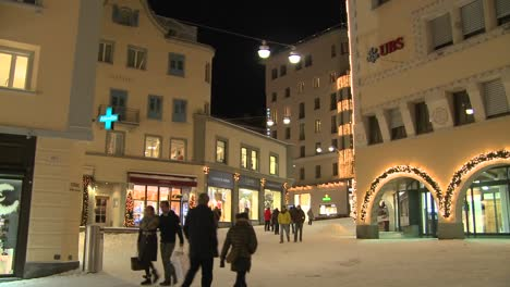Pedestrians-walking-on-the-clean-modern-streets-of-St-Moritz-Switzerland-in-winter-2