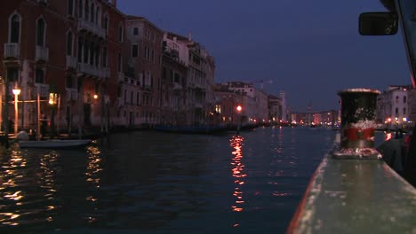 Beautiful-evening-shot-along-the-canals-of-Venice-Italy-2