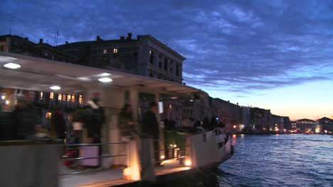 Beautiful-evening-shot-along-the-canals-of-Venice-Italy-3