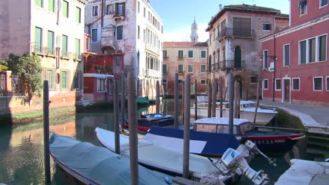 A-quiet-canal-scene-in-Venice-Italy-1