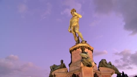 State-of-David-at-dusk-in-Florence-Italy-1