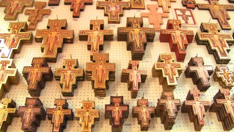 Hundreds-of-souvenir-crosses-hang-in-a-gift-shop-at-a-Christian-holy-site-1