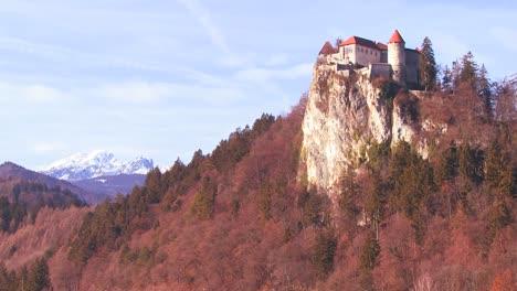 A-beautiful-castle-in-the-Alps-Slovenia