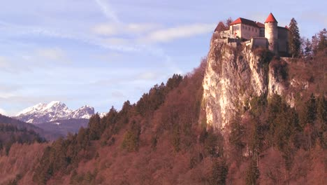 A-beautiful-medieval-castle-in-the-Alps-Slovenia