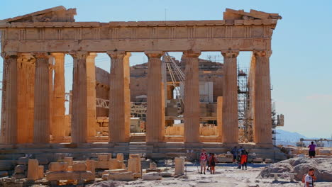 The-Acropolis-and-Parthenon-on-the-hilltop-in-Athens-Greece-2
