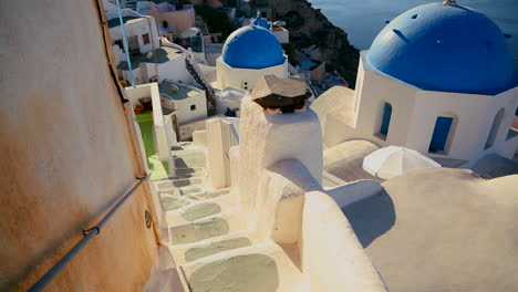 Gorgeous-churches-walkways-and-buildings-grace-the-island-of-Santorini-in-the-Greek-Islands