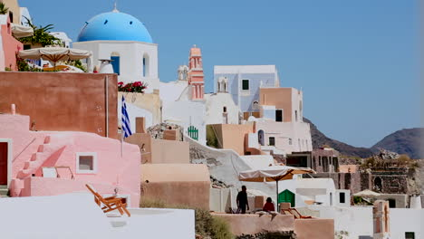Colorful-houses-line-the-hillsides-of-the-Greek-Island-of-Santorini-1