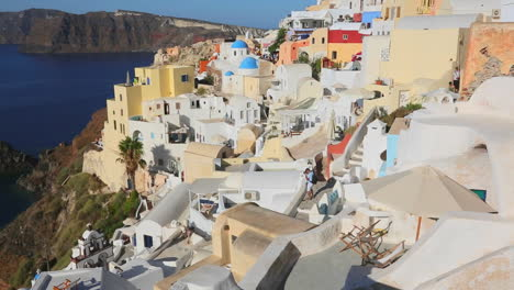 Colorful-houses-line-the-hillsides-of-the-Greek-Island-of-Santorini-3