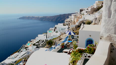 Colorful-houses-line-the-hillsides-of-the-Greek-Island-of-Santorini-4