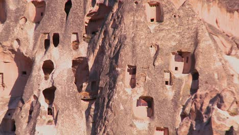 The-strange-towering-dwellings-and-rock-formations-at-Cappadocia-Turkey-4