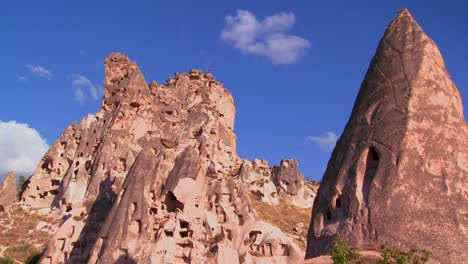 The-strange-towering-dwellings-and-rock-formations-at-Cappadocia-Turkey-5