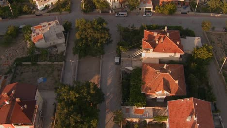 A-slow-aerial-perspective-over-a-neighborhood