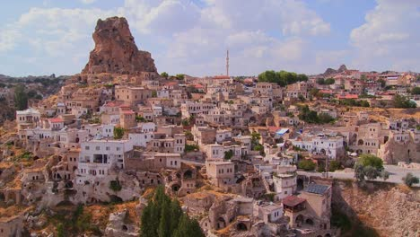 A-village-in-Central-Turkey-in-the-region-of-Cappadocia