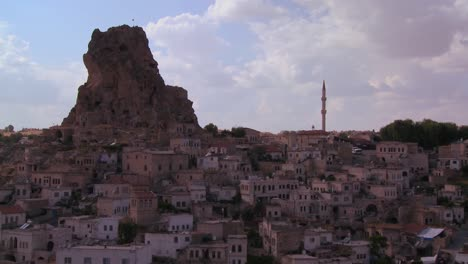 Time-lapse-of-a-village-in-Central-Turkey-in-the-region-of-Cappadocia