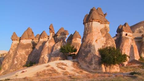 Bizarre-geological-formations-at-Cappadocia-Turkey