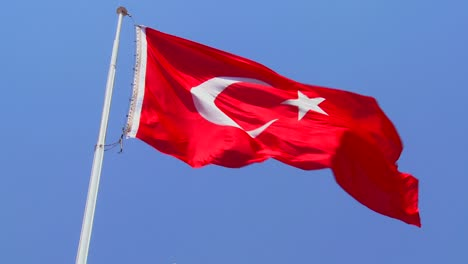 A-Turkish-flag-flies-near-a-mosque-1