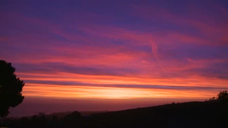 A-beautiful-multi-colored-sunset-along-the-California-coast