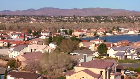 Birds-eye-view-over-suburban-sprawl-in-a-desert-community