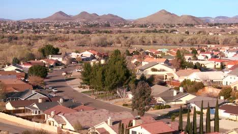Birds-eye-view-over-neighborhoods-and-suburban-sprawl-in-a-desert-community