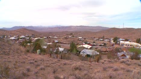 Overview-of-a-Nevada-desert-town