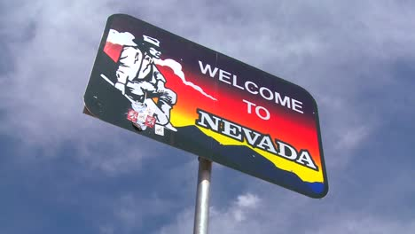 A-sign-welcomes-visitors-to-Nevada