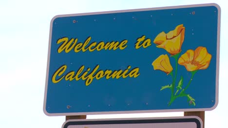 A-sign-welcomes-visitors-to-California