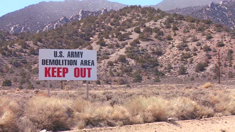 A-sign-warns-trespassers-not-to-enter-an-army-proving-ground-area-in-Nevada-1