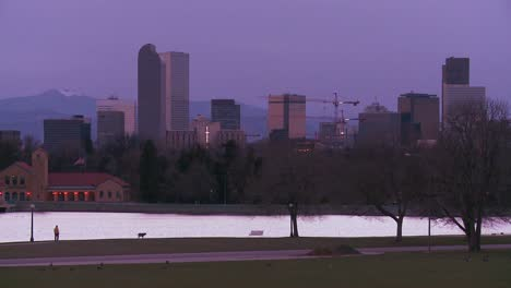 The-skyline-of-Denver-Colorado-skyline-at-dusk-in-purple-light-1