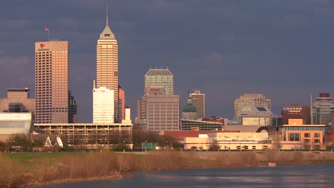 The-city-of-Indianapolis-at-dusk-along-the-White-River-2