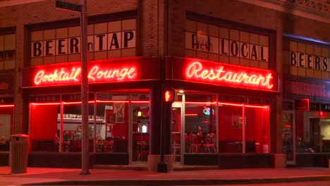 A-neighborhood-corner-cocktail-lounge-and-restaurant-at-night