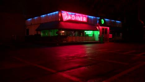 A-roadside-diner-at-night-2