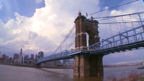 A-bridge-over-the-Ohio-River-leads-to-Cincinnati-Ohio-2