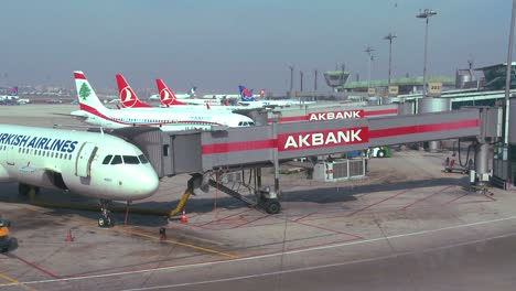 Planes-sit-at-a-Turkish-airport